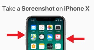 Cách chụp màn hình iPhone X
