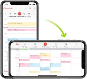 Cách xoay màn hình iPhone X