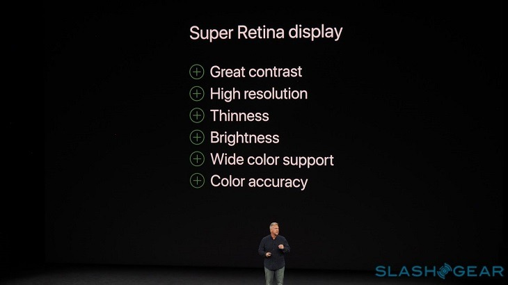 màn hình iphone x bao nhiêu inch