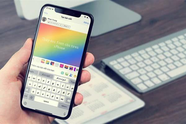 Đổi font chữ trên iphone cực nhanh với 2 thao tác đơn giản