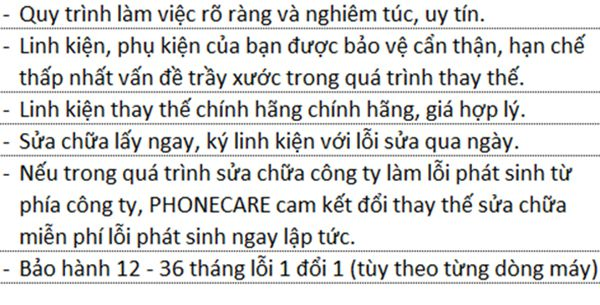 Sửa iPhone 4S